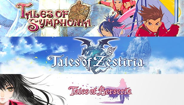 Tales of Bundle with three games is on sale for $24 - Game