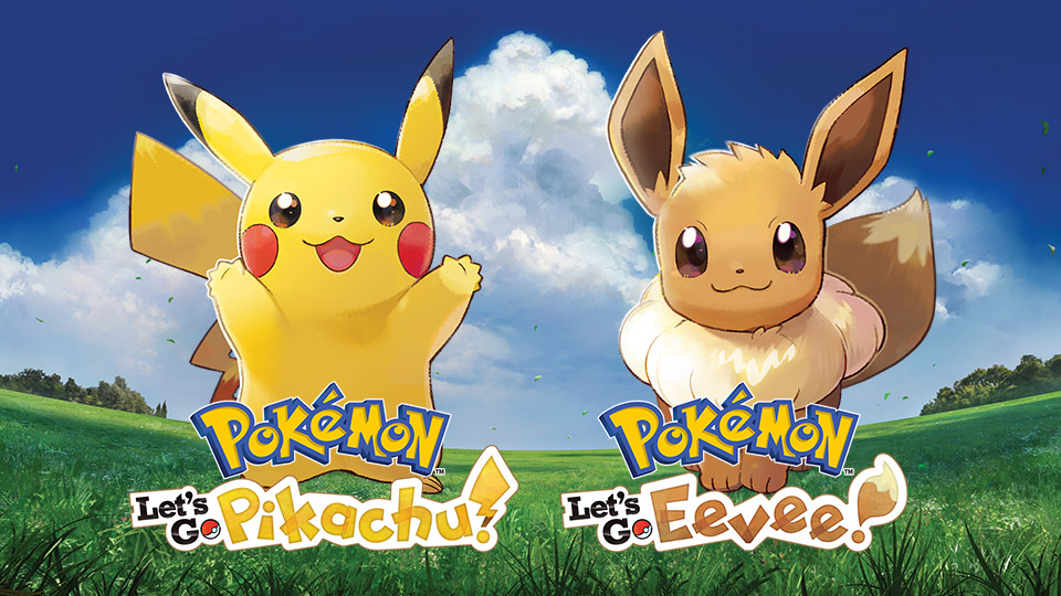 Pokemon: Let's Go Pikachu! and Let's Go Eevee! are on sale