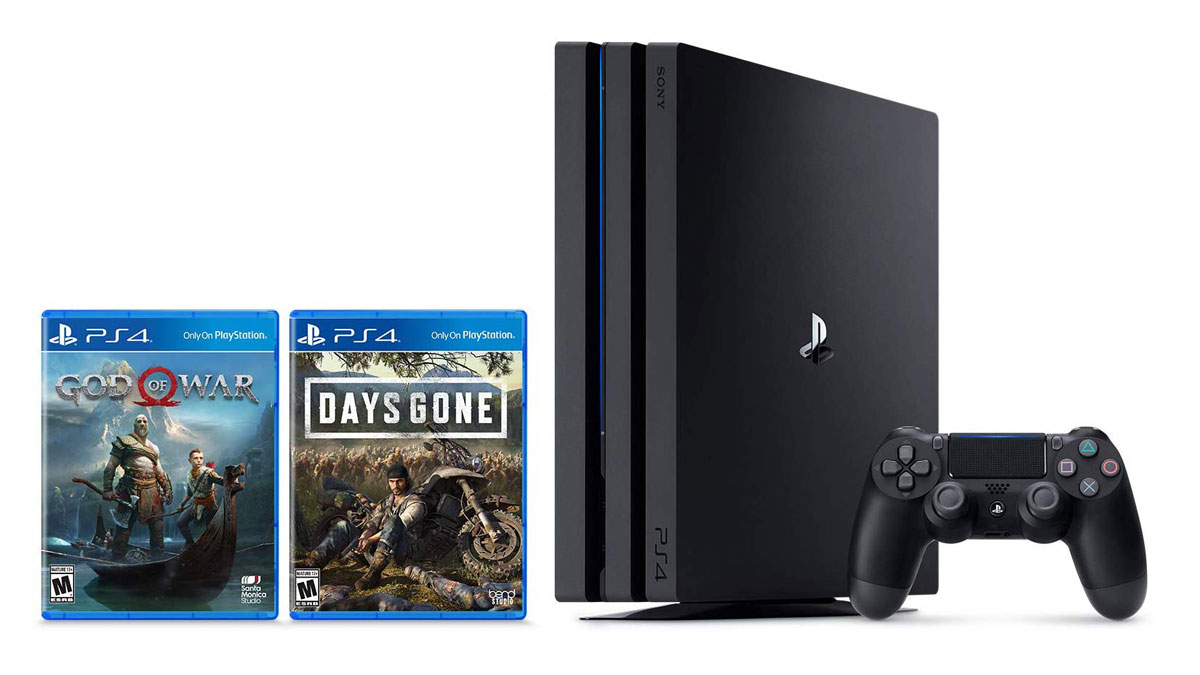 Prime Day Deal: PS4 Pro God of War and Days Gone bundle for